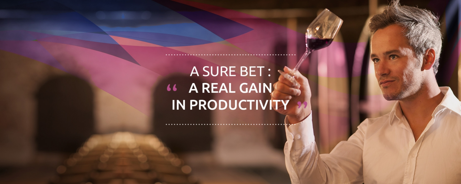 A SURE BET : « A REAL GAIN IN PRODUCTIVITY »